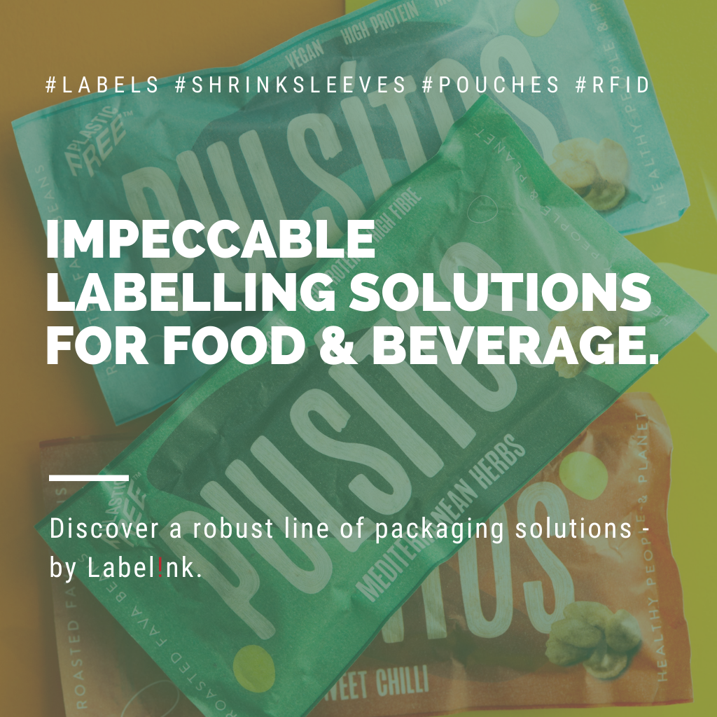Impeccable labelling solutions for food and beverage